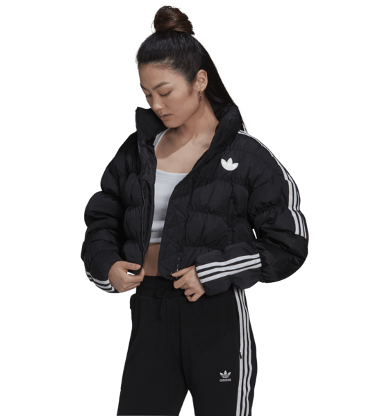 Adidas Originals W D Short Puffer Jackor BLACK
