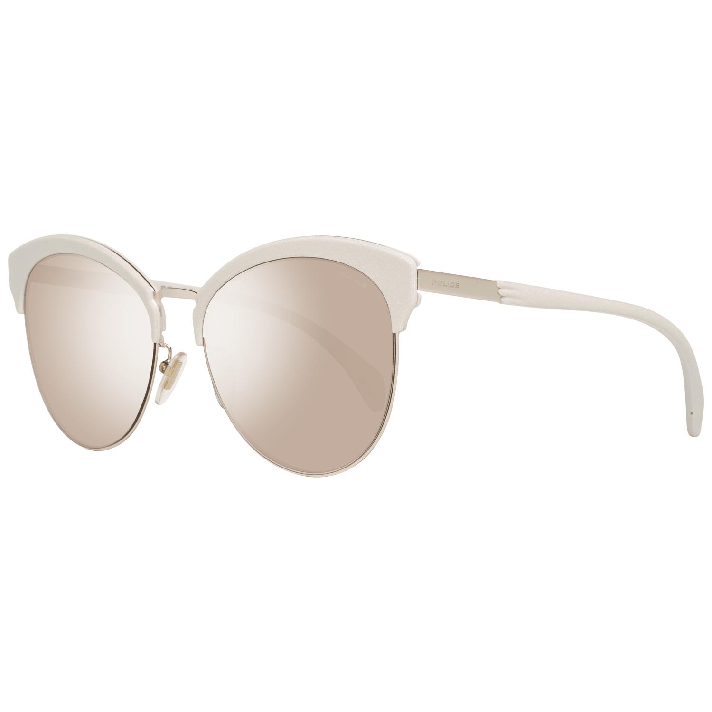 Police Women's Sunglasses Gold PL619 568FFK