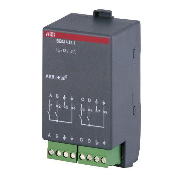 ABB 2CDG110007R0011 Binäärivastaanotin 4 kanavaa KNX 12 V, sykkivä, potentiaalivapaa