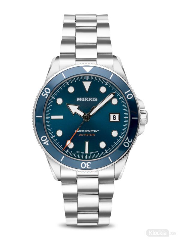 Herrklocka MORRIS St.Ives Diver Blue M1441