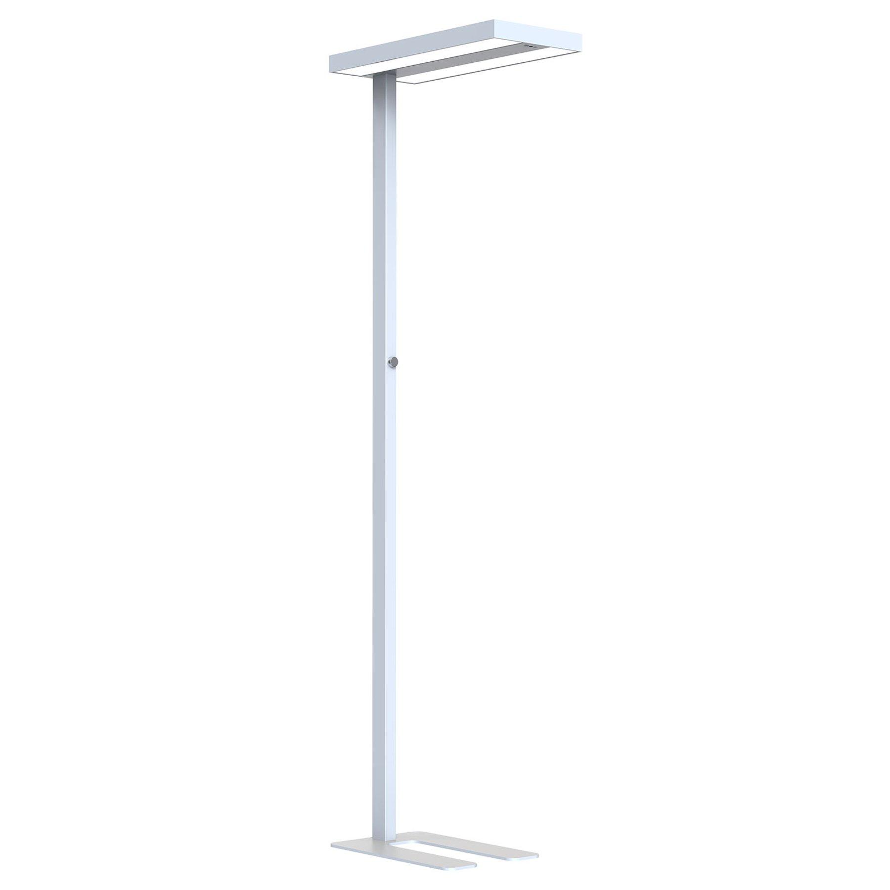 Arcchio Nelvana LED-gulvlampe, sensor, sølv