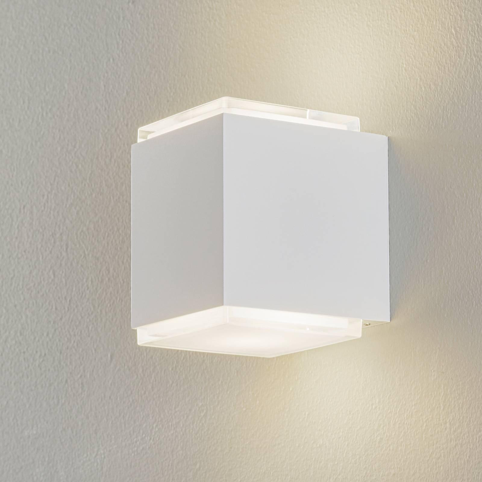 BEGA 50064 LED-vegglampe 3 000 K 12 cm DALI hvitt