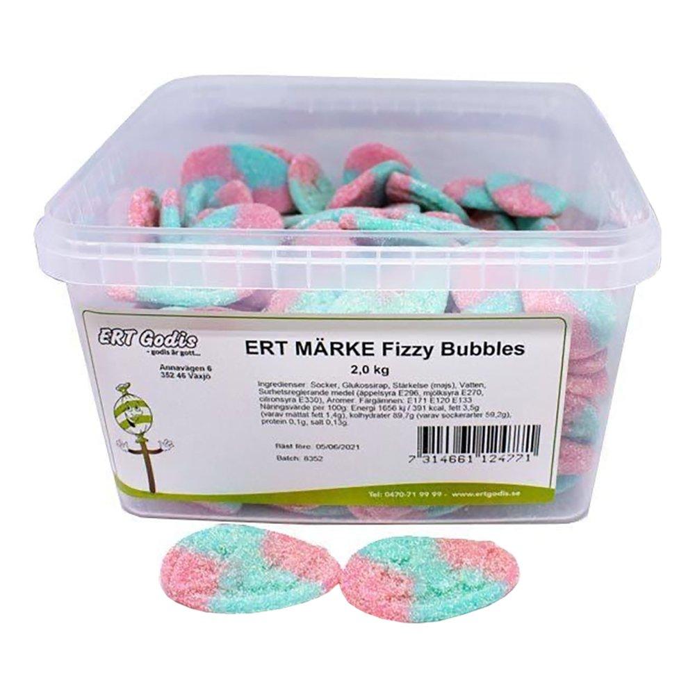 ERT Märke Fizzy Bubbles Storpack - 2 kg