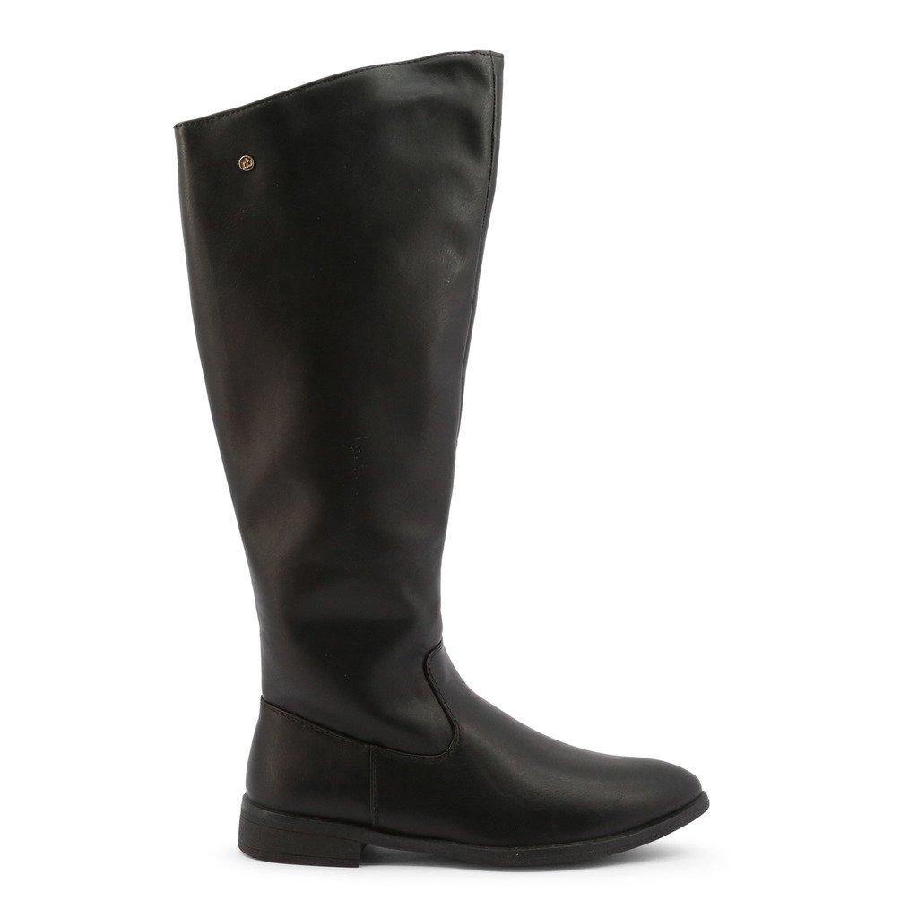 Roccobarocco Women's Boot Black RBSC1JC04 - black EU 38
