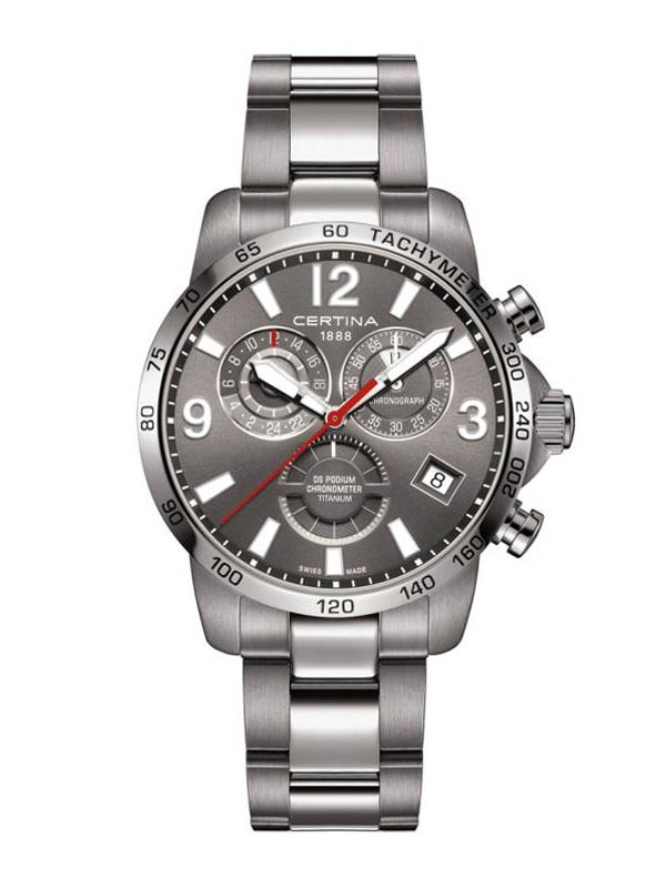 Certina DS Podium Chronometer Titanium c034.654.44.087.00