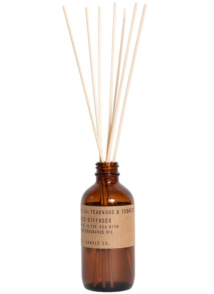 P.F. Candle Co. No. 4 Teakwood and Tobacco Reed Diffuser