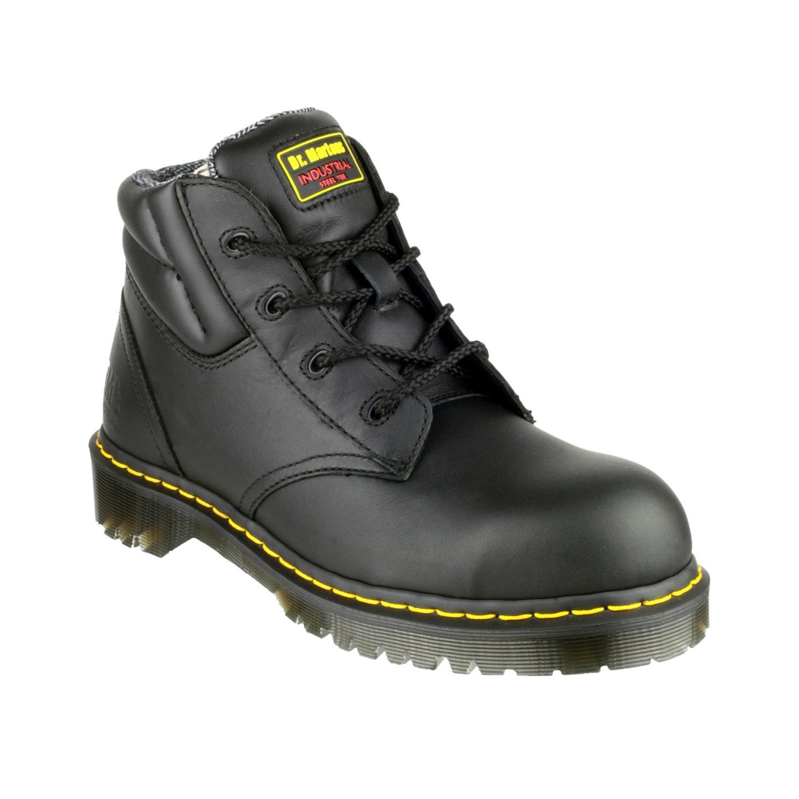 Dr Martens Unisex Lace-Up Boot Black 14068 - Black 12