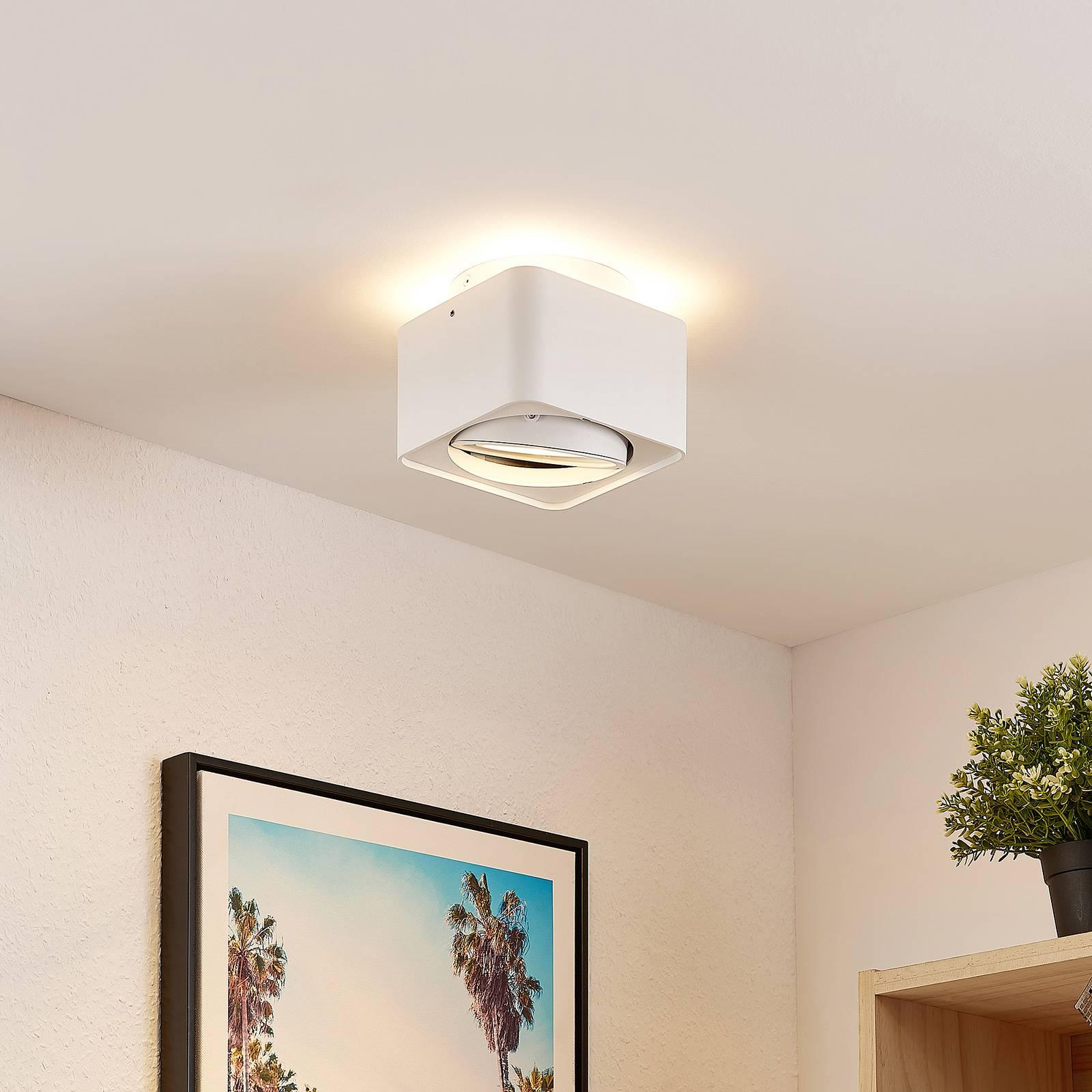 Arcchio Talima -LED-kattovalaisin, kulmikas