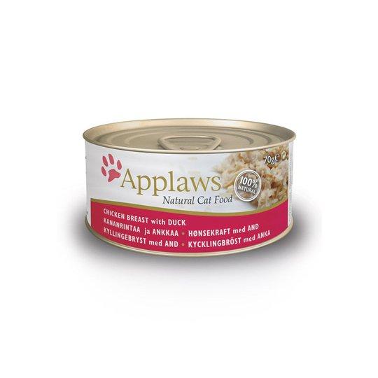 Applaws Chicken&Duck Konserv