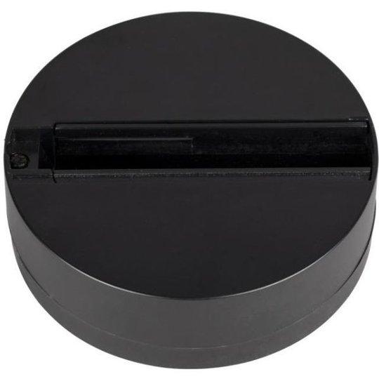 Hide-a-Lite LiteTrac Yksittäisen kohdevalaisimen kiinnike 1-vaiheinen, musta