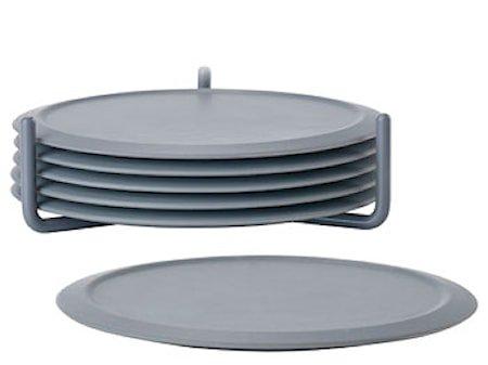 Glassbrikker Cool Grey med holder