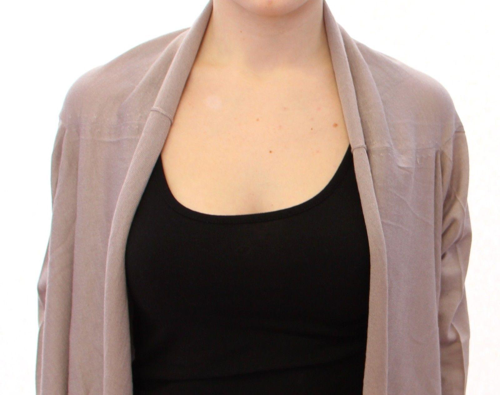 Dolce & Gabbana Women's Bolero Silk Cashmer Knit Sweater Beige GOD10290 - IT36 | XS