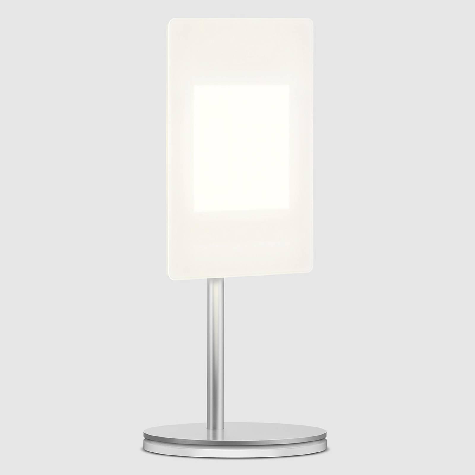 OLED-bordlampe OMLED One t1 med OLED, hvit