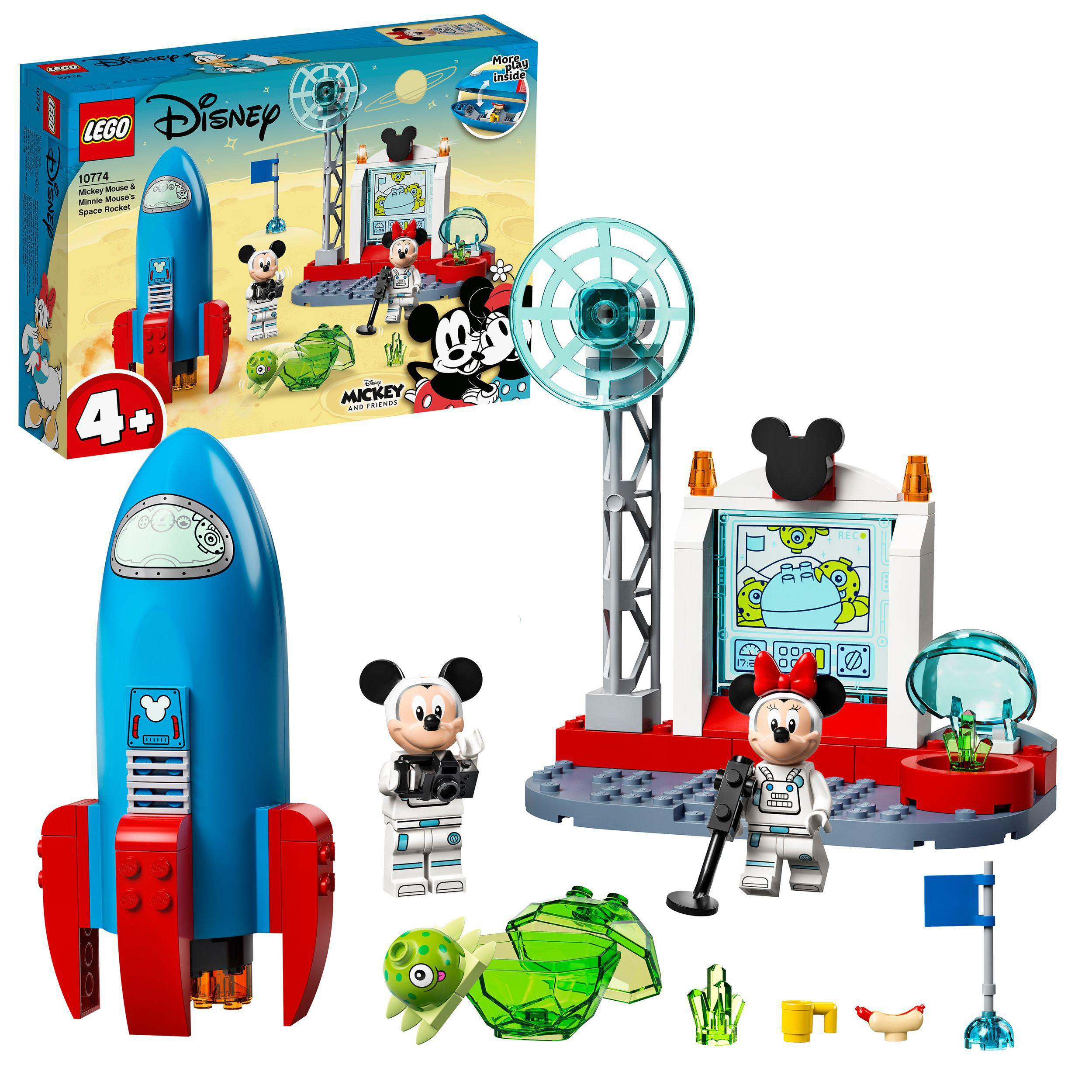 LEGO Mickey Mouse - Mickey Mouse & Minnie Mouse's Space Rocket (10774)