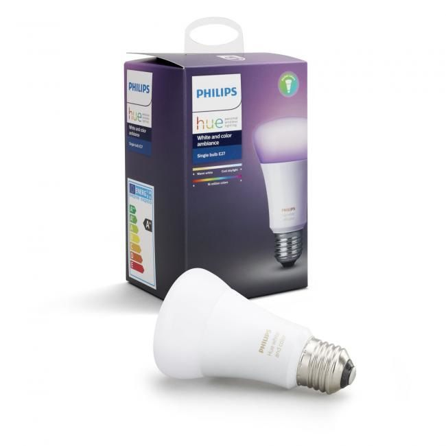 Philips Hue - E27 Single bulb - White & Color Ambiance - Bluetooth