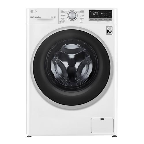 Lg F4wv409n1we Tvättmaskin - Vit