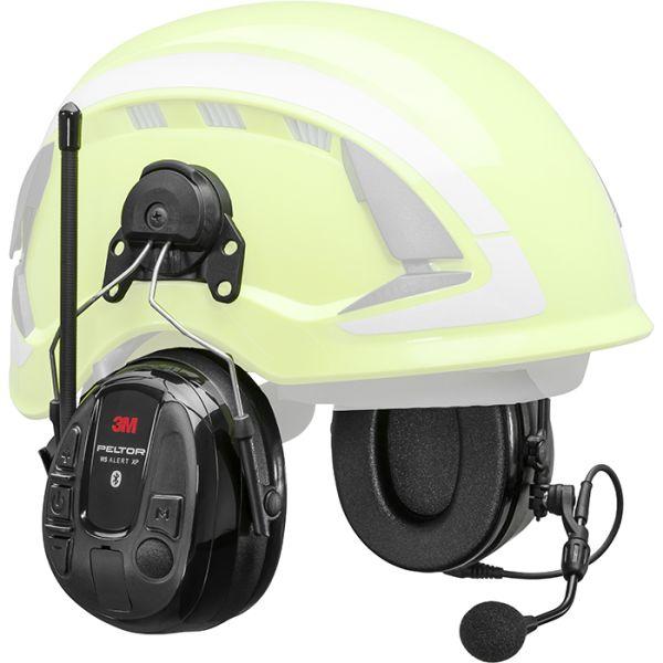 3M Peltor WS Alert XP Hørselsvern Bluetooth med hjelmfeste