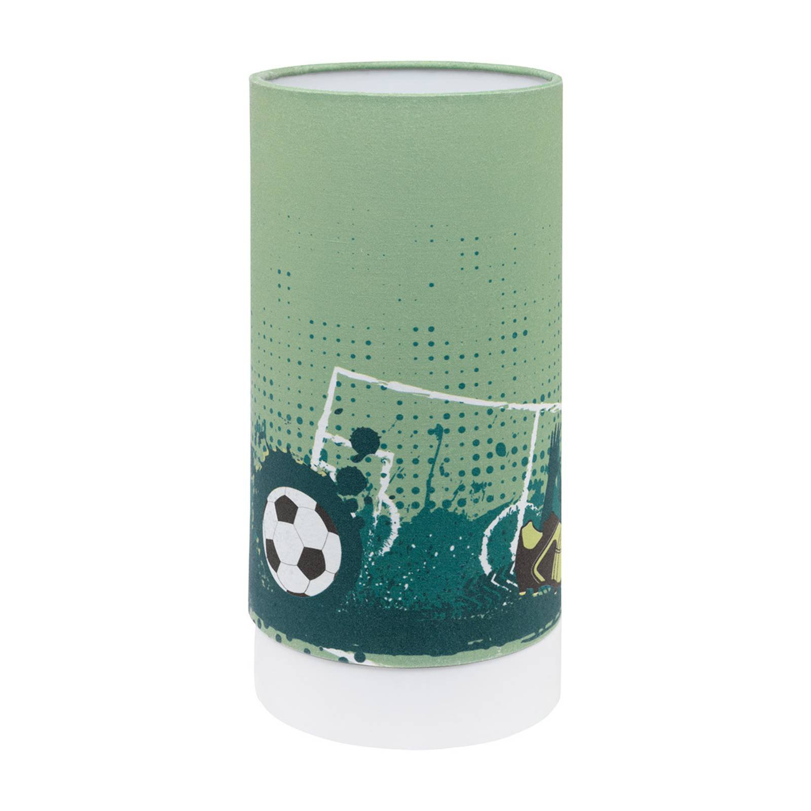 LED-bordlampe Tabara med fotballmotiv