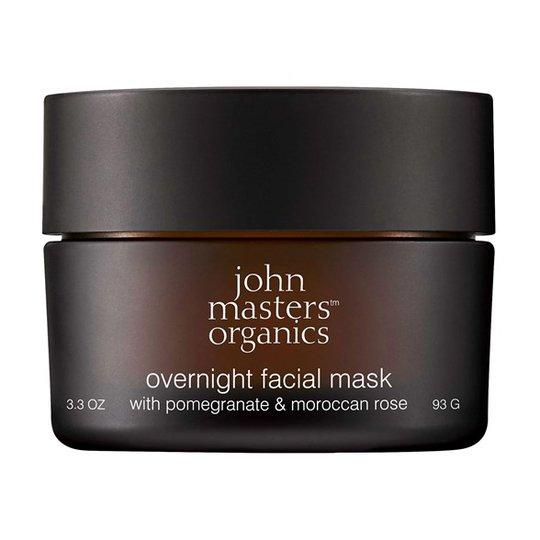 John Masters Organics Overnight Facial Mask with Pomegranate & Moroccan Rose, 93 g