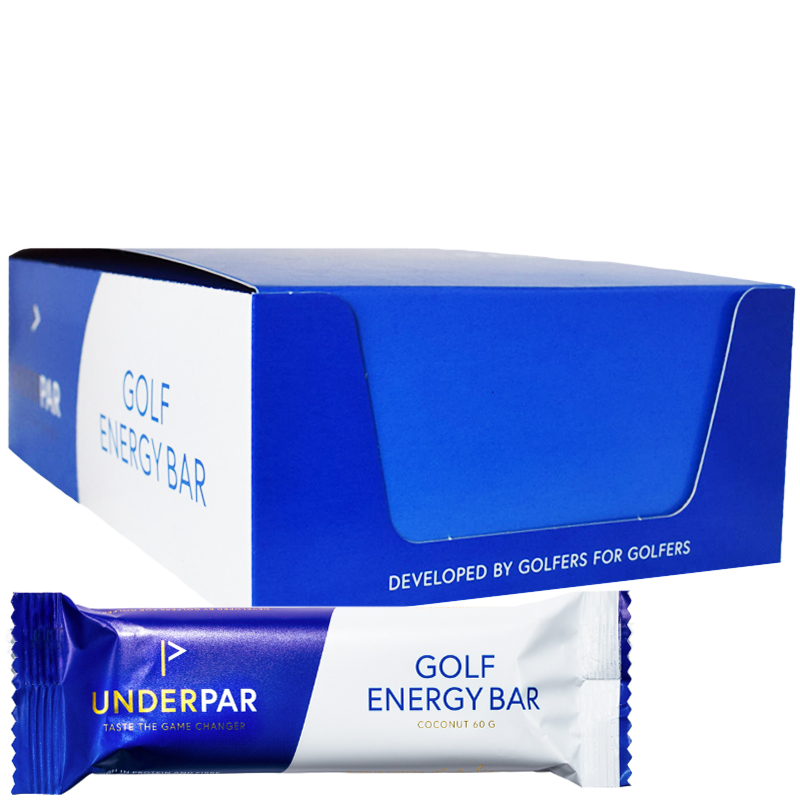 "Hel Låda Proteinbar ""Golf Coconut"" 20 x 60g - 63% rabatt"