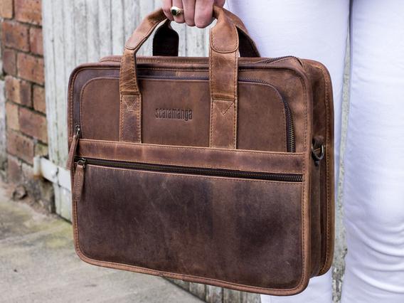 Women's Citylander Laptop Bag Brown 15 Inch