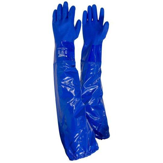 Tegera 12910 Käsineet Kemikaalisuoja, PVC Koko 9, 100-pack