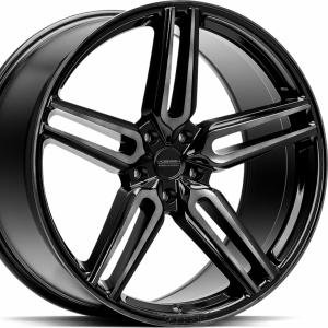 Vossen HF1 Tinted Gloss Black 10x20 5/120 ET45 B72.6