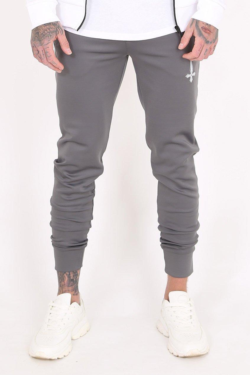 Mind Scuba Men's Joggers / Jogging Bottoms - Grey, XX-Large
