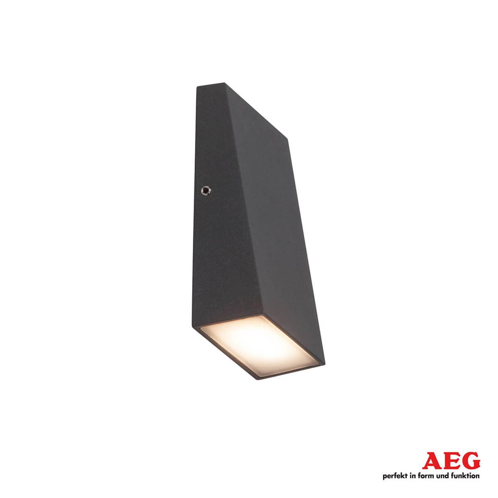 Tivana LED-utevegglampe med nanobelegg