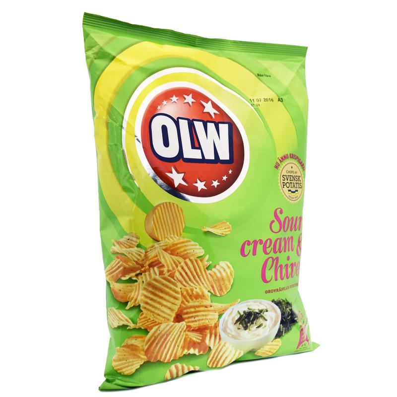 Chips Gräddfil & Gräslök 175g - 50% rabatt