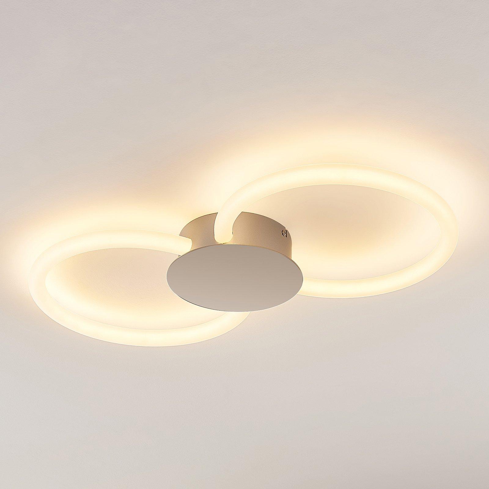 Lucande Clasa LED-taklampe, 2 lyskilder
