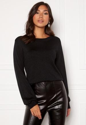 Happy Holly Angelica lurex sweater Black 36/38