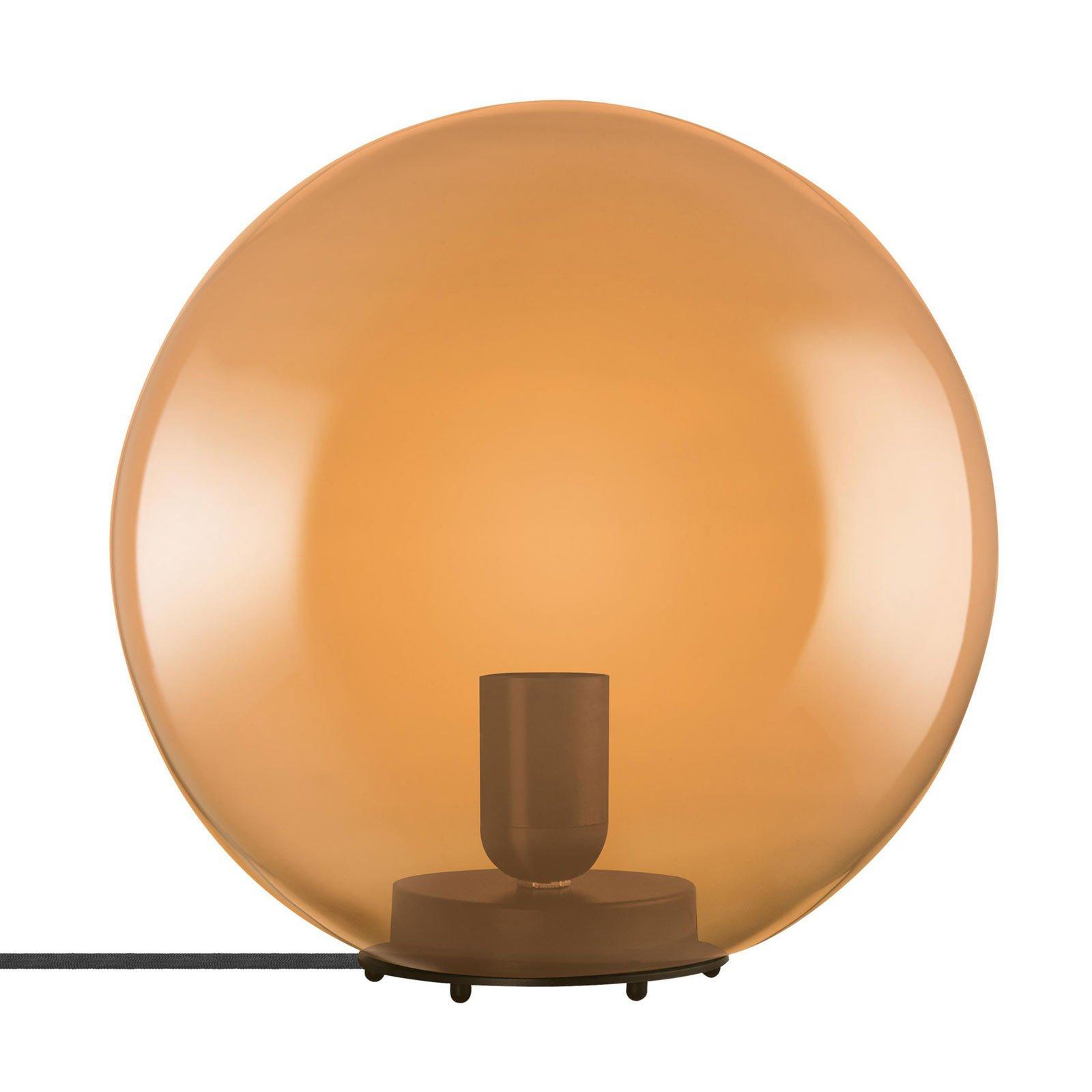 LEDVANCE Vintage 1906 bordlampe Bubble, oransje