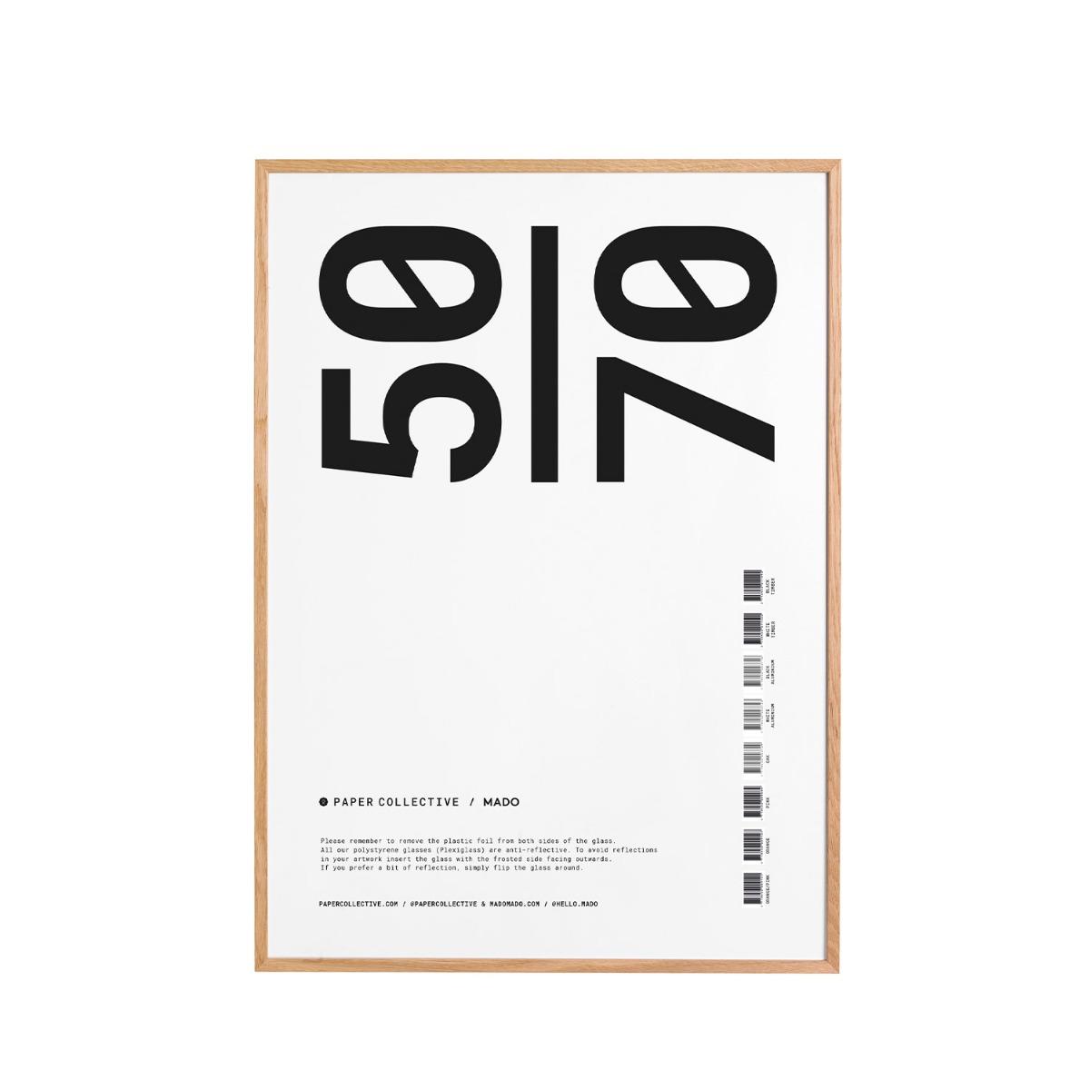 Paper Collective Ram Ek Plexi 50x70 cm