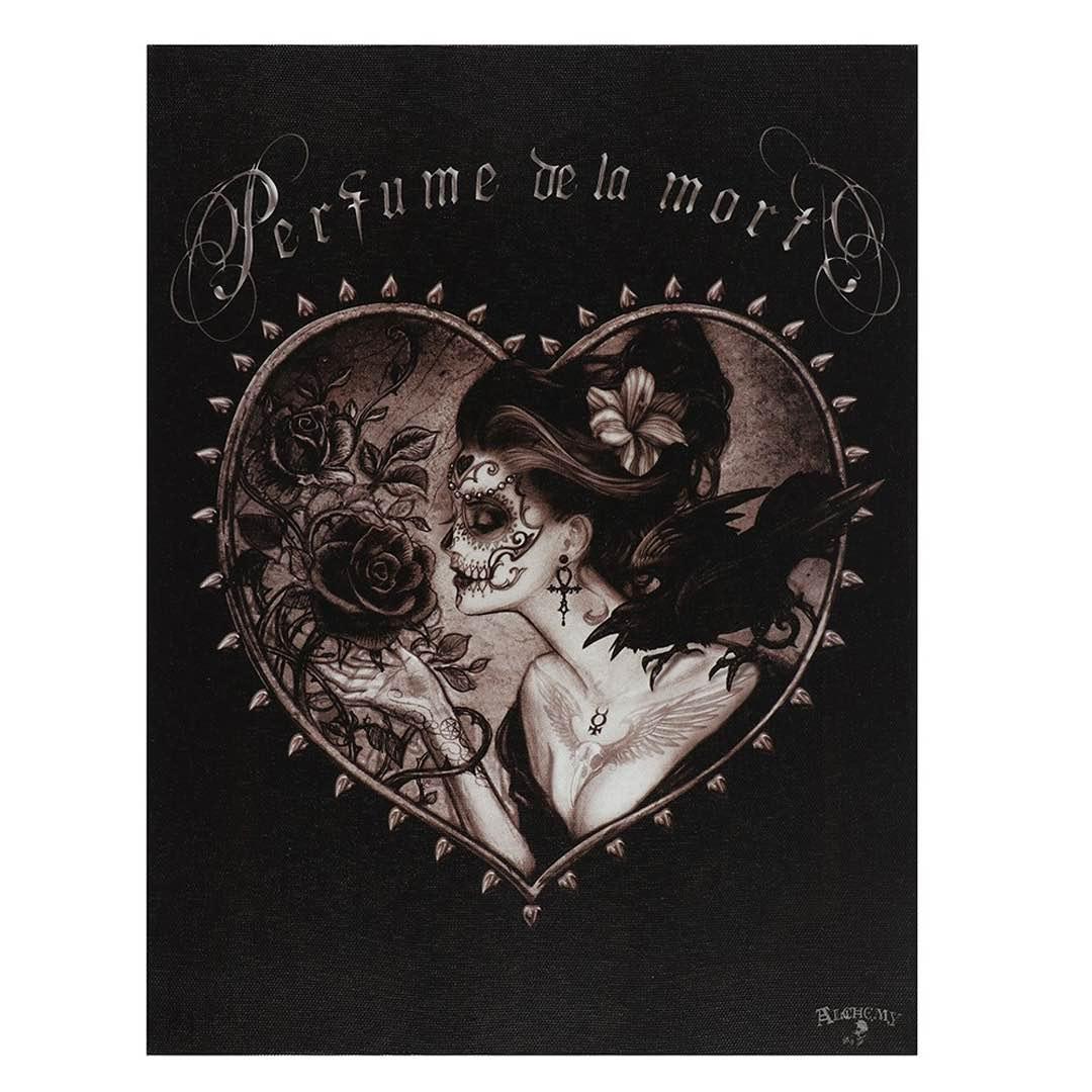 Dödens parfym Canvastavla av Alchemy Gothic