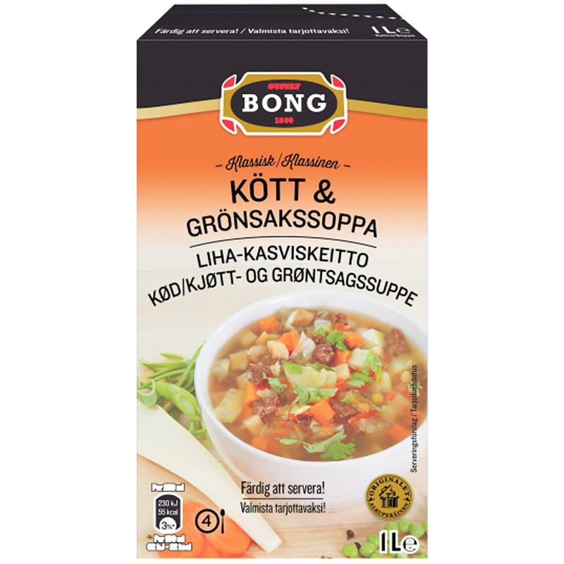 Soppa Kött & Grönsaker 1l - 62% rabatt