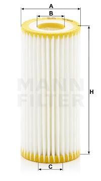 Öljynsuodatin MANN-FILTER HU 6013 z