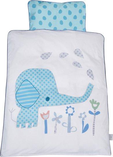 Babydan Sengesett 65x75 Elefantastic, Blå