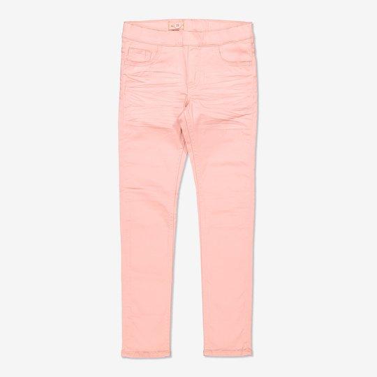 Dra-på-bukse lysrosa