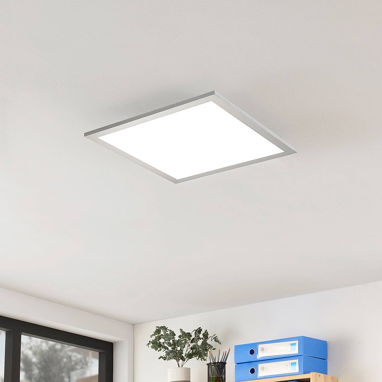 Arcchio Gelora -LED-paneeli, 4 000 K, 40 cmx40 cm