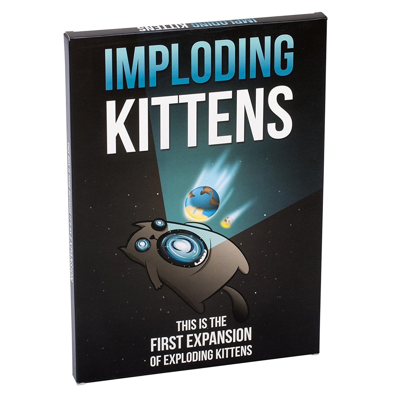 Imploding Kittens - Expansion to Exploding Kittens