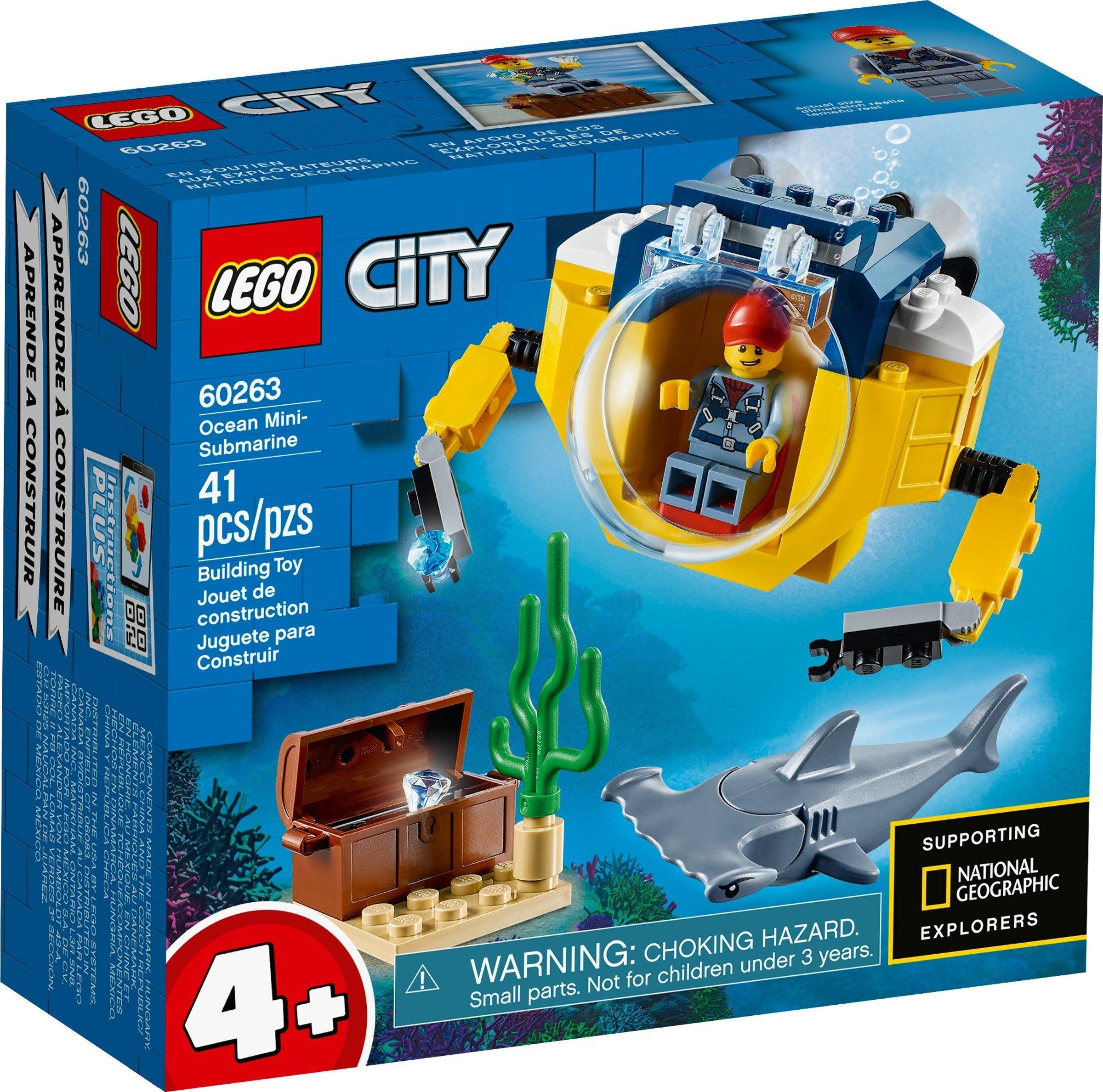 LEGO City - Ocean Mini-Submarine (60263)