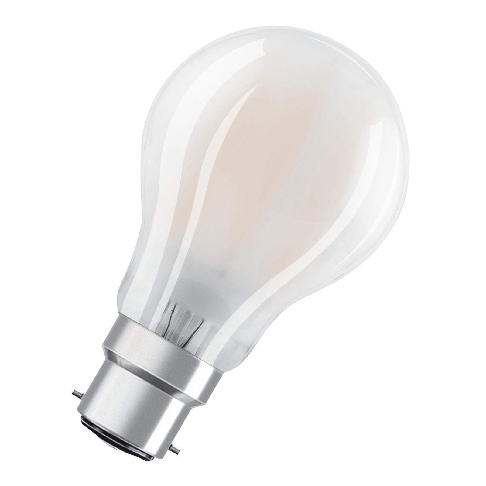 OSRAM-LED-lamppu B22d Classic A 11W 2 700 K matta