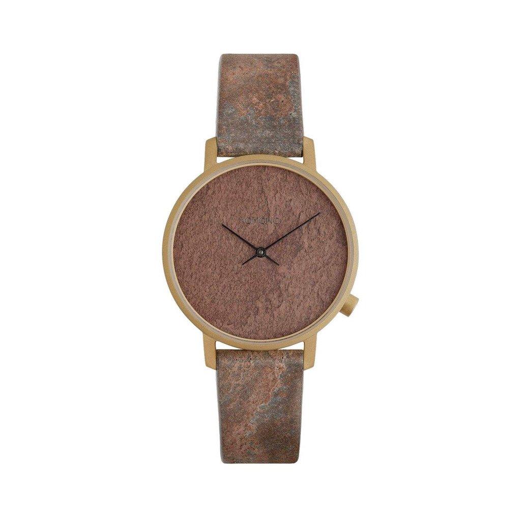 Komono Unisex Watch Brown W4101 - brown NOSIZE