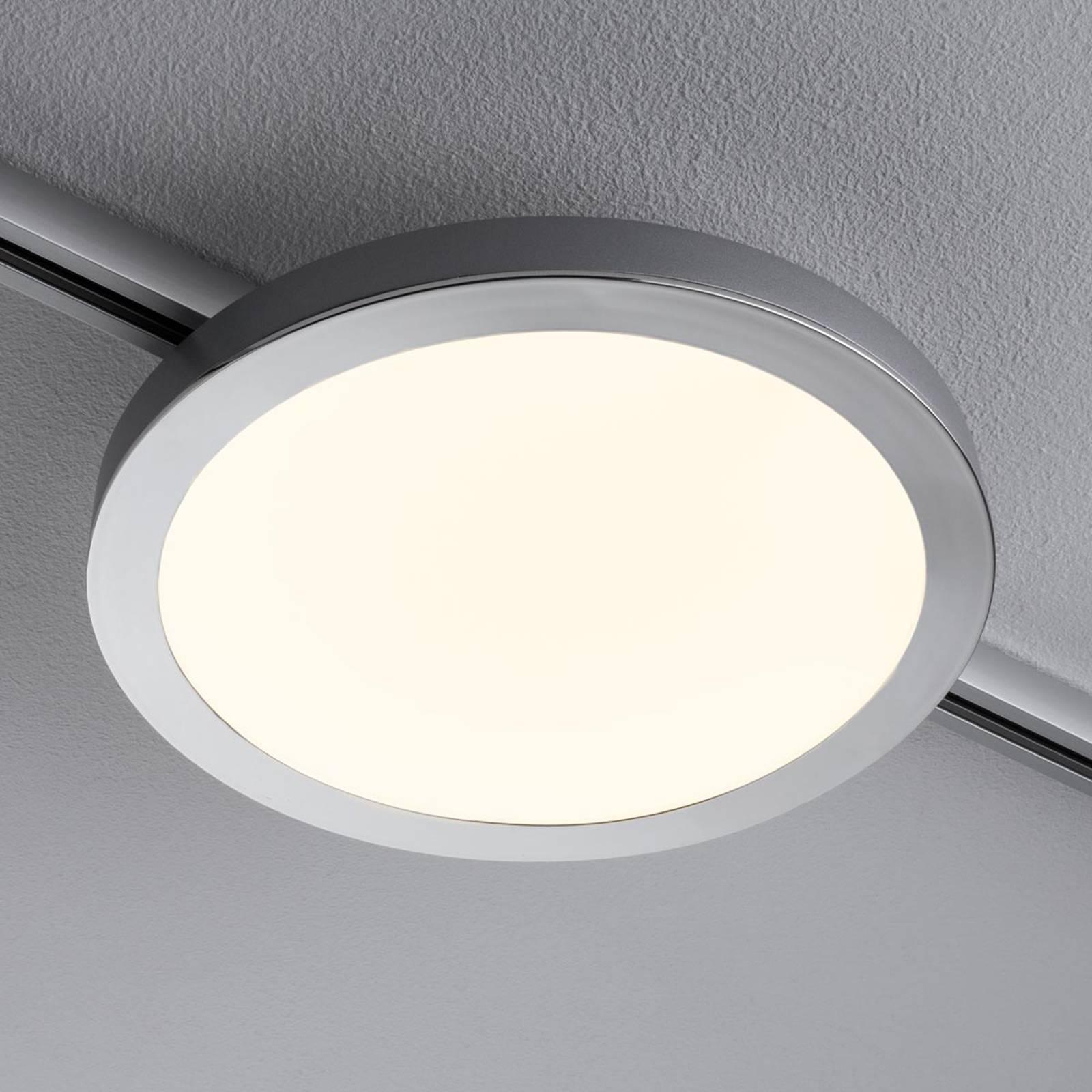 Paulmann URail Spin -LED-paneeli, mattakromi