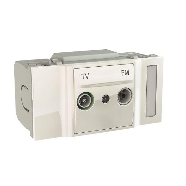 Schneider Electric INS66760 Pääterasia 2 pistorasiaa 2.2 dB