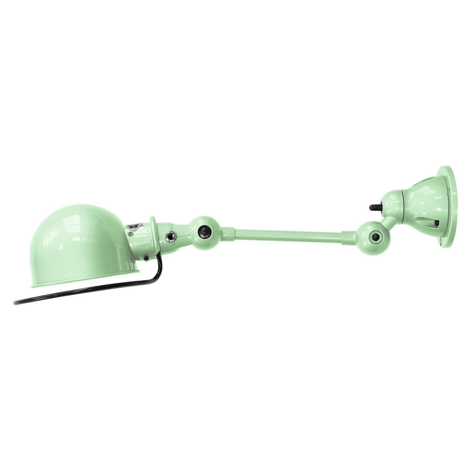 Jieldé Loft D2501 fleksibel vegglampe, mintgrønn