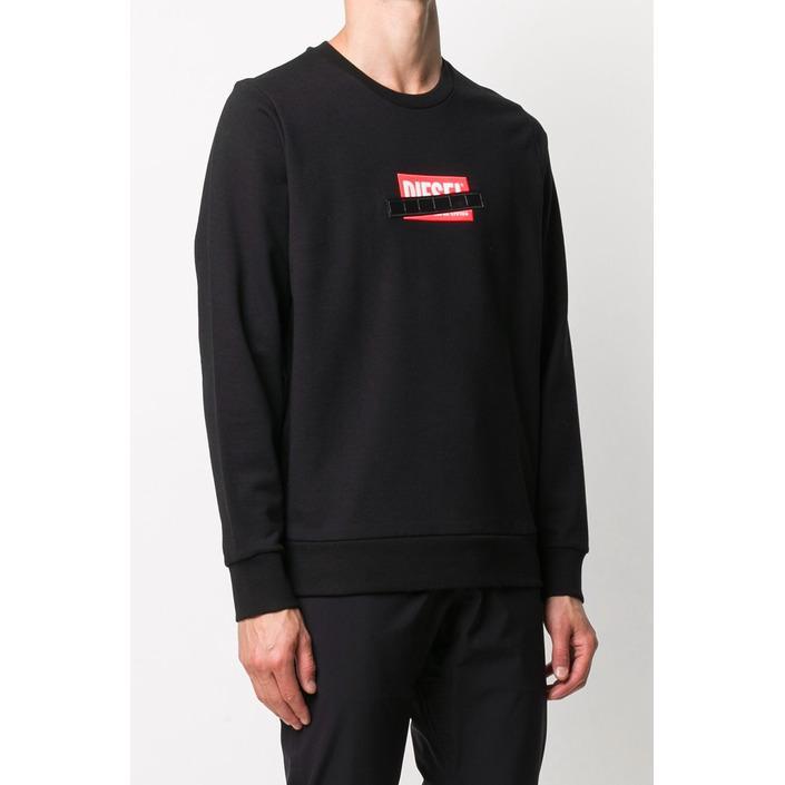 Diesel Men's Sweatshirt Black 293998 - black S
