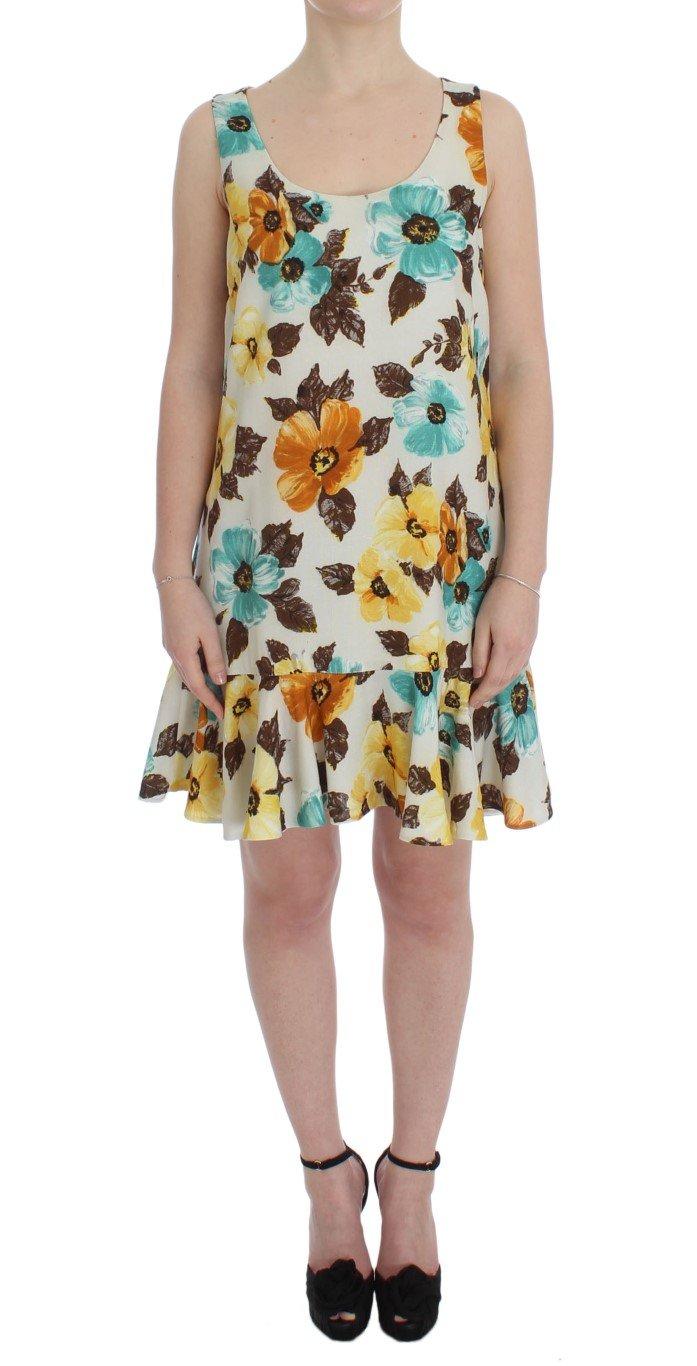 Dolce & Gabbana Women's Floral Shift Above Knee Dress Multicolor SIG50850 - IT42|M