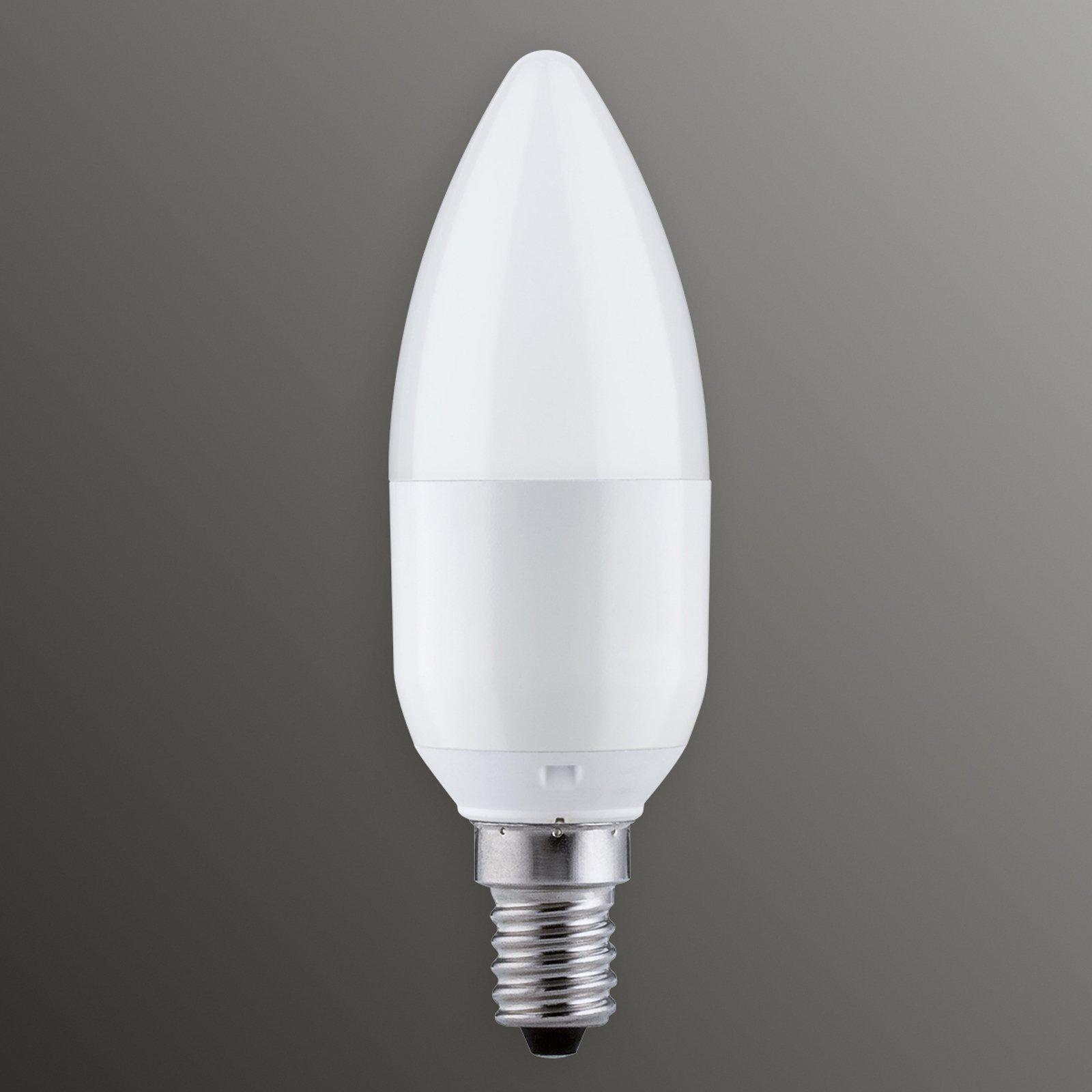 E14 5,5W 827 LED-stearinlyslampe dimmfunksjon